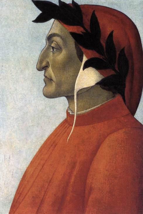 Este é Dante, o complexado de meia idade que escreveu o poema.
