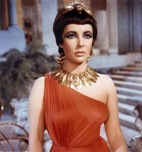 Deixa o povo pensar que a Cleopatra era assim...