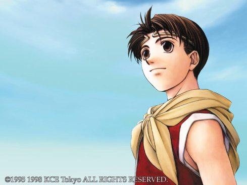 Reparem no olhar heróico do protagonista, a postura firme! Assim como eu!