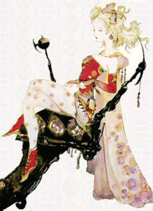 De todas as personagens femininas do jogo Terra é minha preferida.